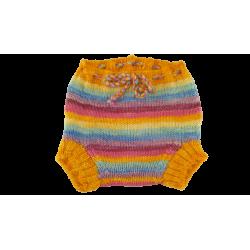 Mixed Pastel colour Merino Soaker - Custom made