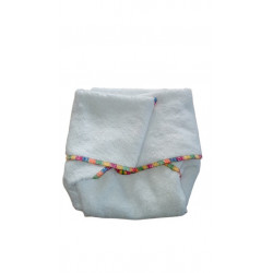 Little Q-DOS Nappy V2 - 100% bamboo loop terry